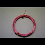 ALUMINIUM DRÓT 1,0MM 10M/OPP PINK- (E364662)