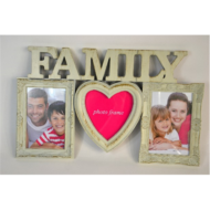 KÉPKERET 3KÉP FAMILY, MŰA. 41,5*25,3*1,8CM- (E505262)