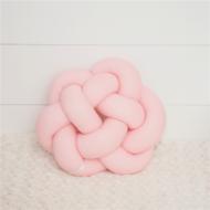 Csomócska párna, 30x30cm, rózsaszín (ECSP-RSZ30)