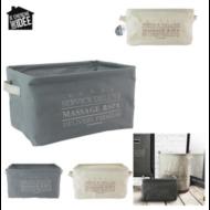 Tároló doboz, DELUXE, 9L, 2db/szett (ERG5858)