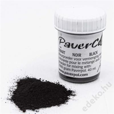 PaverColor színező porok, black/fekete (PAV005-FEK)