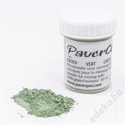 PaverColor színező porok, green/zöld (PAV005-GR)