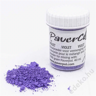 PaverColor színező porok, violet/ibolya (PAV005-IB)