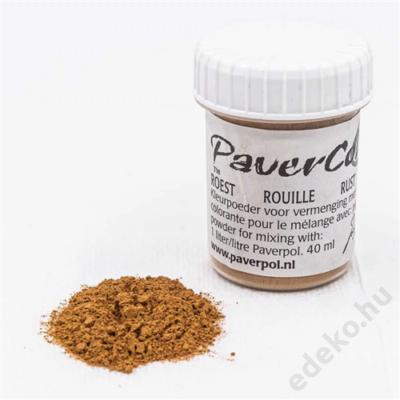 PaverColor színező porok, rust/rozsdabarna (PAV005-RB)