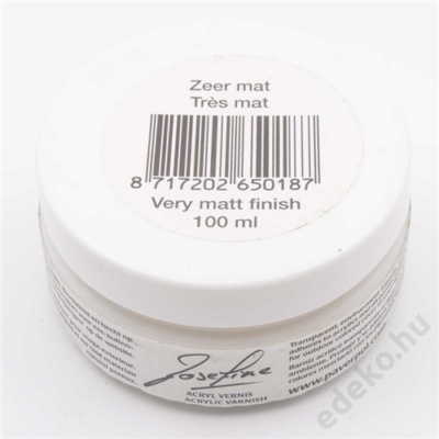 Lakk, very matt, 100ml (PAV007-LMATF100)